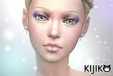 Colored Eyelashes at Kijiko » Sims 4 Updates