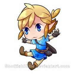 BOTW Zelda Link Drawing