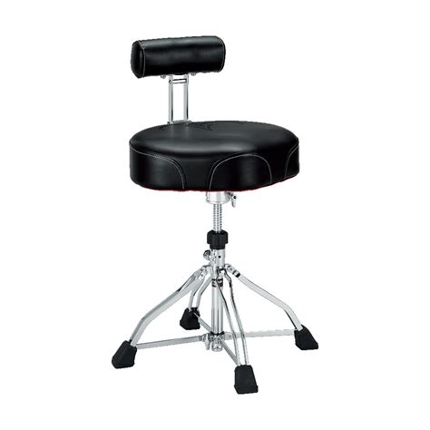 tama 1st chair ht741b ergo rider quartet with backrest