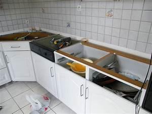 poser un plan de travail cuisine 28 images comment With meuble cuisine a poser sur plan de travail