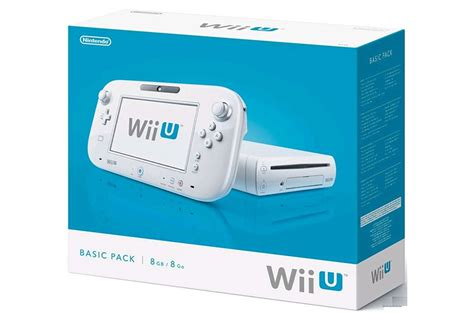 Console Nintendo Wii U by Consoles Wii U Nintendo Wii U 8 Go Blanche Basic Wii U