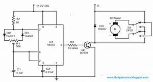 Pwm - Ne555 Based Speed Controller Circuit