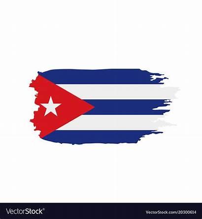 Flag Cuba Vector Royalty Vectorstock