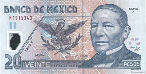 20 Pesos Mexico 2005 P.116e B78_0116 Banknotes