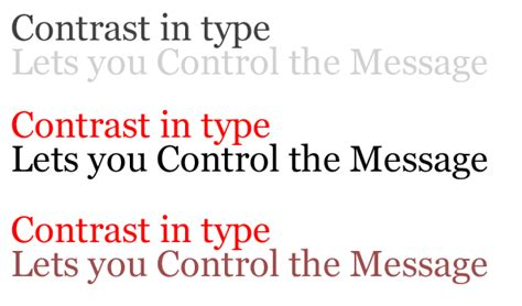 improve your typography with quot typographic contrast