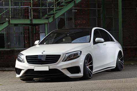 mercedes amg tuning mercedes amg s63 slammed stanced and boosted carscoops
