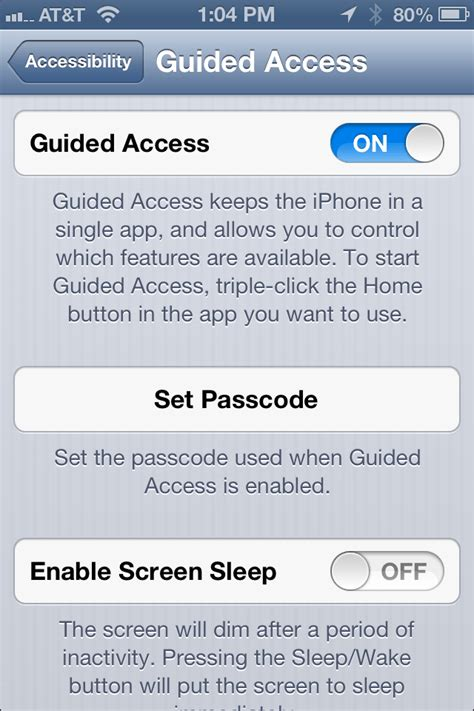 turn accessibility iphone turn on kid s mode guided access on your iphone