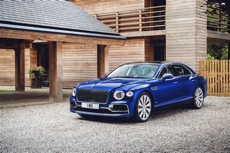 bentley flying spur edition has one priority you