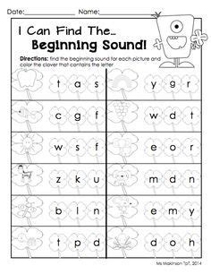 free printable beginning sounds worksheets search beginning middle ending sounds
