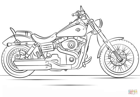 chopper motorcycle coloring pages printable coloring pages