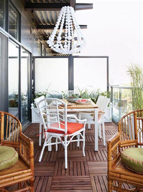 cozy ideas  design  balcony