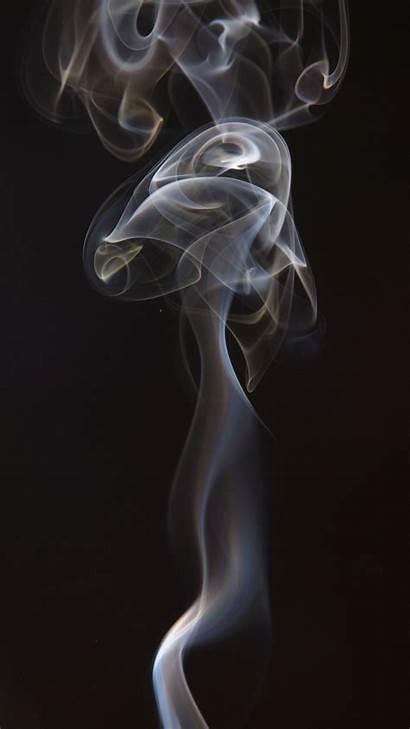 Smoke Dark Background Puffs Iphone Wallpapers Shroud