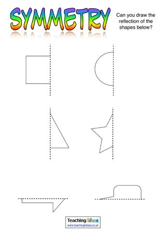 symmetry activities teaching ideas