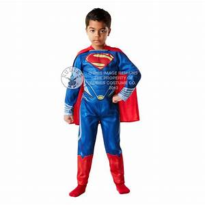 SUPERMAN ~ Man Of Steel - Kids Costume - SUPERMAN from A2Z ...