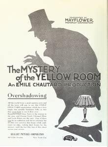 myst鑽e de la chambre jaune il mistero della gialla 1919