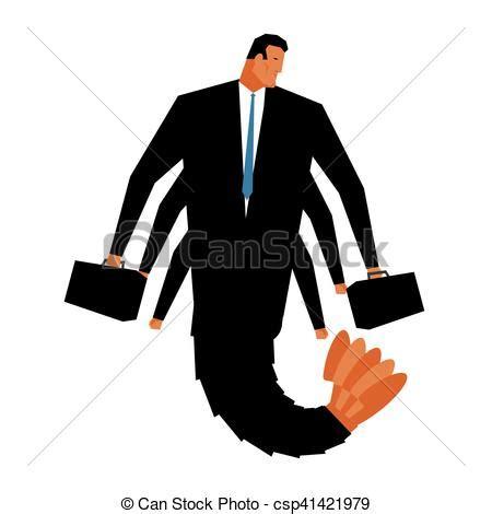 serviette bureau homme illustrations vectorisées de pagurian serviette bureau