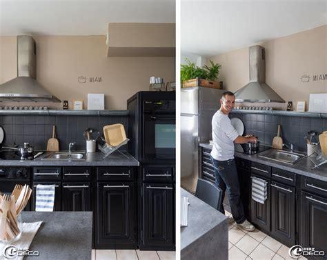 repeindre sa cuisine avant apres pretty repeindre sa cuisine en bois images gallery