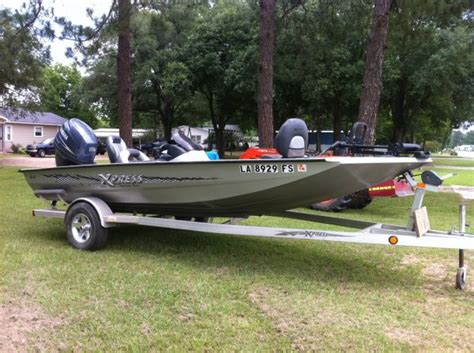 Xpress Bass Boats Dealers by 2008 Xpress H18 Bass Boat For Sale In Louisiana