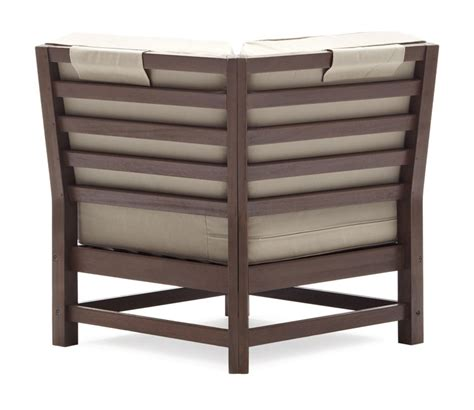 Strathwood Patio Furniture Assembly by Strathwood Hardwood Sectional Corner Chair Buy