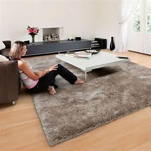 Tapis Beige Salon : tapis shaggy swing arte espina tapis chic le blog ~ Teatrodelosmanantiales.com Idées de Décoration