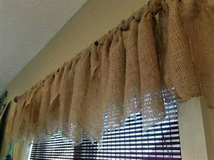 17 best ideas about Burlap Window Treatments on Pinterest