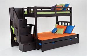 Keystone Stairway TwinFull Bunk Bed With Perfection
