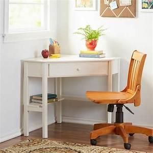 Petit Bureau Angle : petit bureau d angle rangement bureau bois lepolyglotte ~ Teatrodelosmanantiales.com Idées de Décoration