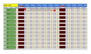 Free Printable Attendance Sheet Template