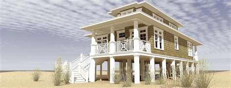 country beach house plan td architectural designs house plans