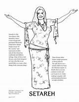 Davina Coloring Belly Dance sketch template