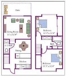 two story apartment floor plans uc davis student housing the