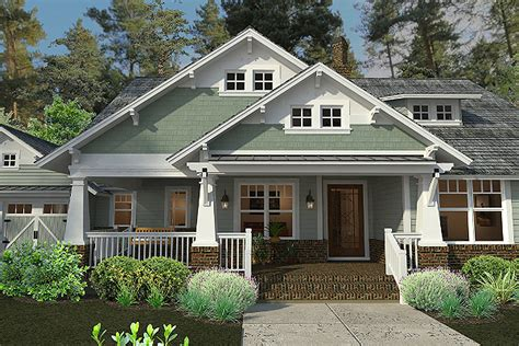 House Style : Craftsman Style House Plan-beds . Baths Sq/ft