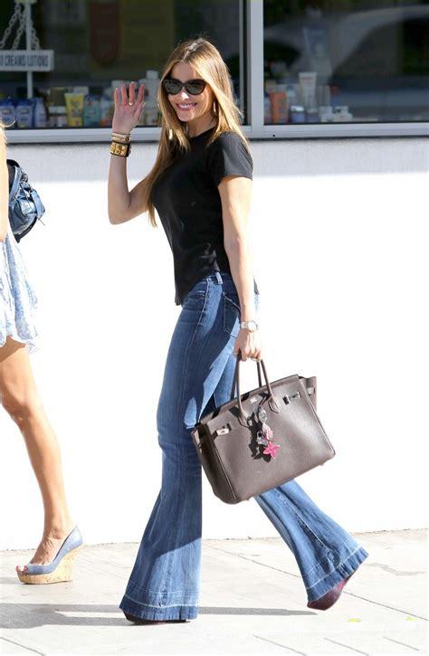 Sofia Vergara In Flare Jeans Denimology