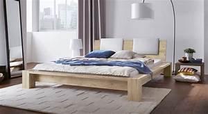 Bett Weiß Massiv 180x200 : massivholz bett aus ge lter wildeiche z b 180x200 domingo ~ Bigdaddyawards.com Haus und Dekorationen