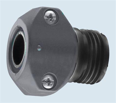 water faucet stainless steel garden hose repair fittings couplings and menders gilmour