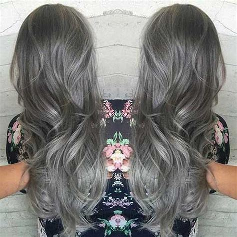 coloring hair gray 25 new gray hair color hairstyles 2016 2017