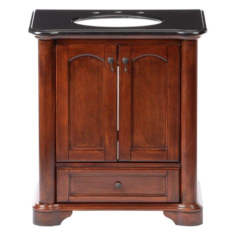 pegasus vermont 30 in birch vanity in mahogany with