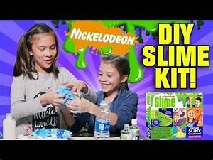 NICKELODEON DIY SLIME KIT Glow In the Dark Googly Eye