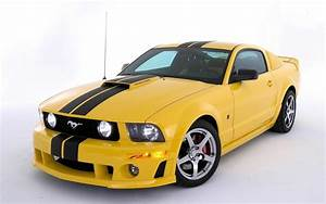 Yellow Modified Ford Mustang | Car Wallpapers