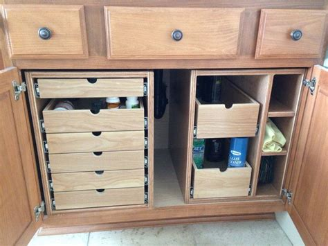 Bathroom Cabinet Drawer Organizers 25 Best Ideas About Cabinet Storage On