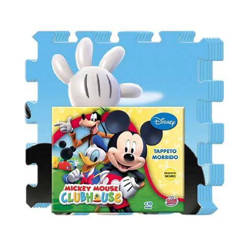 tappeto bambini puzzle tappeto puzzle bambini tappetino morbido topolino 6 pezzi