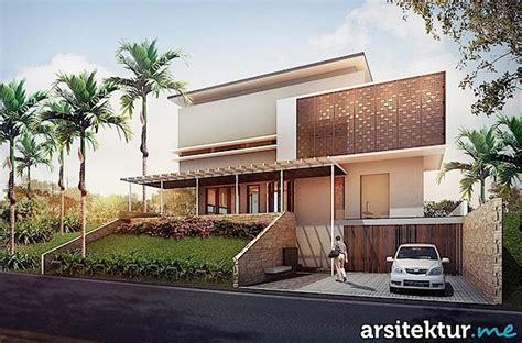 kumpulan gambar desain arsitektur rumah modern minimalis