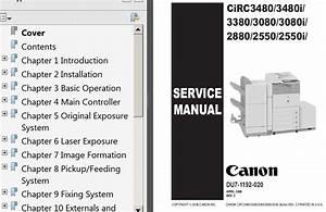 Diagram  Canon Imageclass Mf4300 Series Printer Service