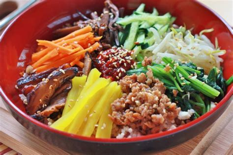 corian cuisine food photo bibimbap maangchi com