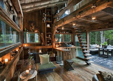 14 Amazing Living Room Designs Indian Style Interior And: Stylist Scott Newkirk Unwinds In His Tiny 14×14 Cabin Made