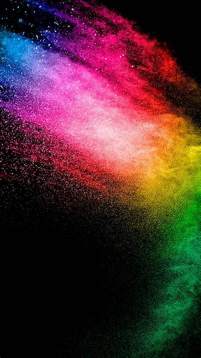 Iphone Colorful Colors Explosion Wallpapers Rainbow Android