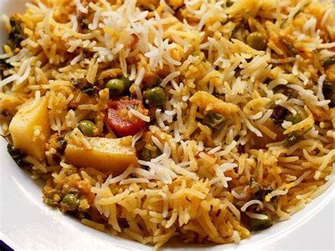 Kitchens Of India Hyderabadi Biryani by Hyderabadi Veg Biryani Recipe Kacchi Veg Hyderabadi Biryani