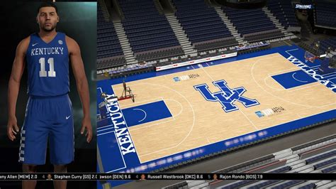 kentucky wildcats jerseys arena tutorial nba