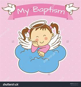 Baby girl baptism clipart - BBCpersian7 collections