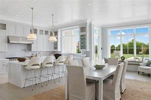 maison neuve a linterieur baigne par la lumiere dans les With salle À manger contemporaine avec cuisine tout Équipée prix